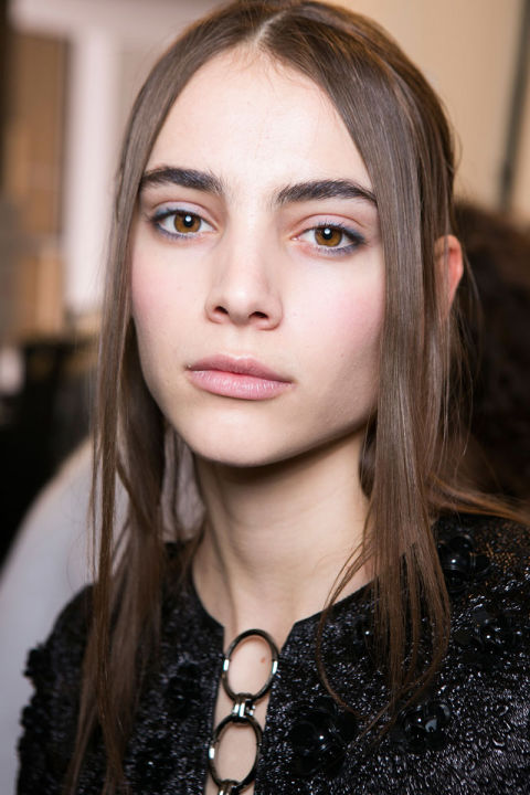 Fall 2016 Beauty Trends: Soft Kissable Lips at Michael Kors