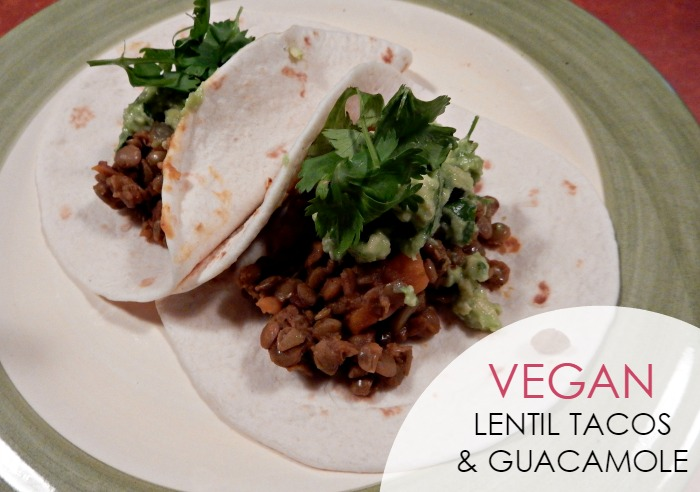Vegan Lentil Tacos Recipe - Dream in Lace