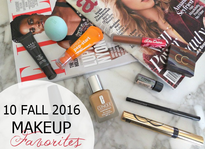 10 Fall Makeup Favorites - Dream in Lace