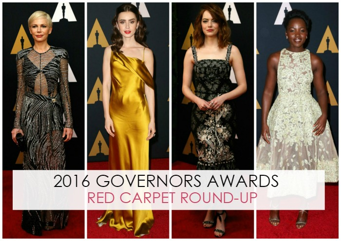 2016 Governors Awards Red Carpet Round-Up - Dream in Lace