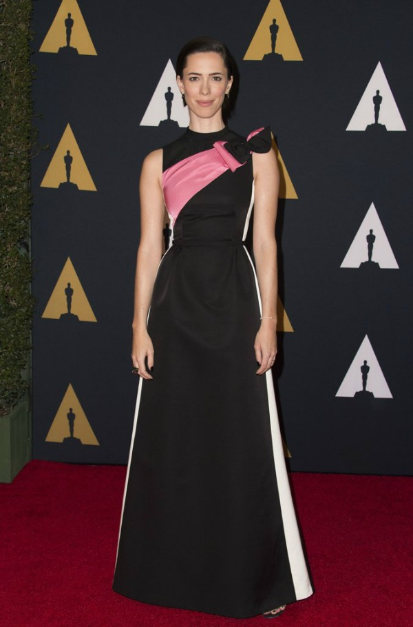 Rebecca Hall in Prada on the 2016 Governors Awards Red Carpet - Dream in Lace