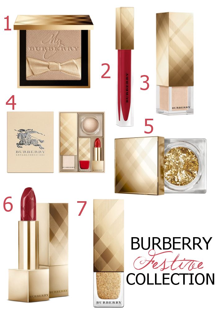 Burberry Festive Collection Holiday 2016 Makeup Releases - Dream in Lace
