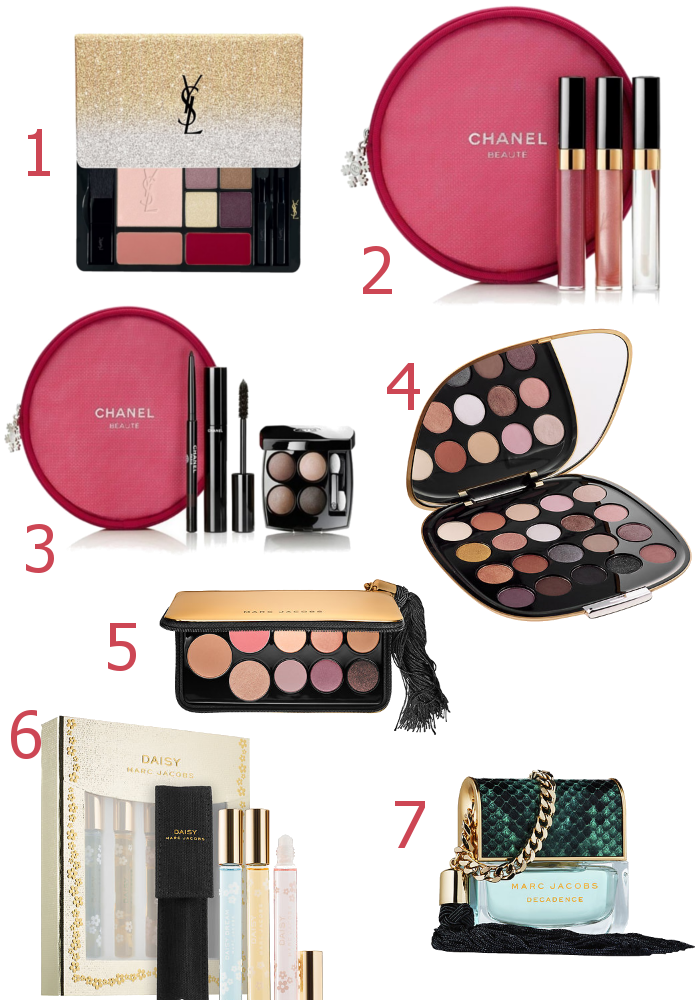 Holiday 2016 Makeup Releases from Chanel, Marc Jacobs and YSL