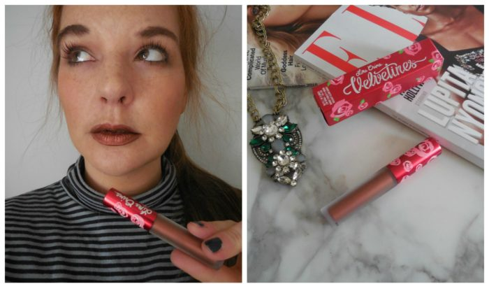 How to Wear Metallic Lipstick with Lime Crime Velvetine Lipstick in Lana - Dream in Lace