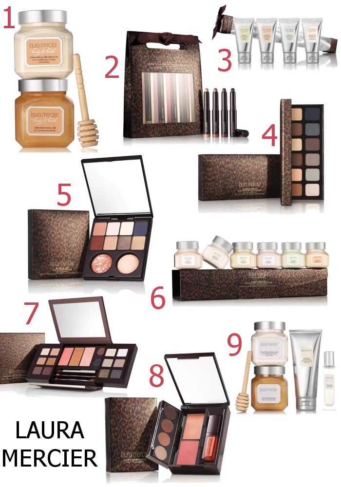 Laura Mercier Little Indulgences Holiday 2016 Makeup Releases - Dream in Lace