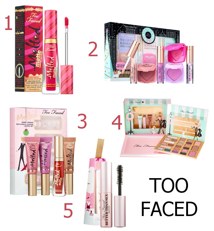 Too Faced Holiday 2016 Makeup Releases - Dream in Lace