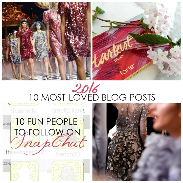 10 Most Loved Blog Posts of 2016