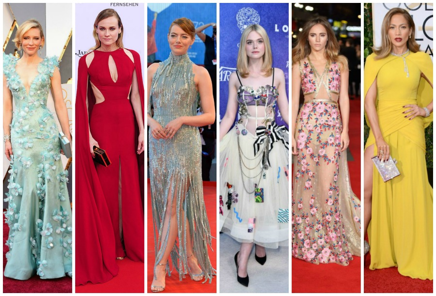 10 of the BEST 2016 Red Carpet Fashion Moments