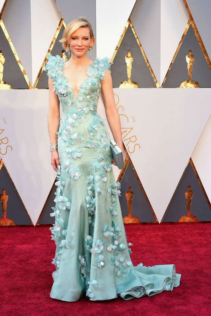 Best 2016 Red Carpet Fashion: Cate Blanchett in Armani