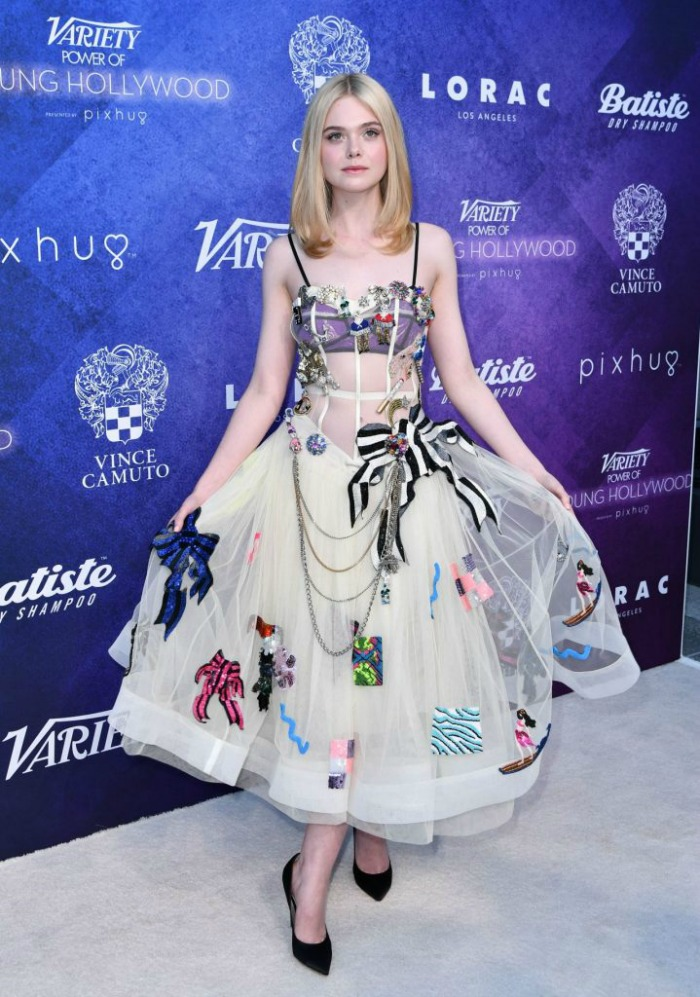 Best 2016 Red Carpet Fashion: Elle Fanning in Marc Jacobs