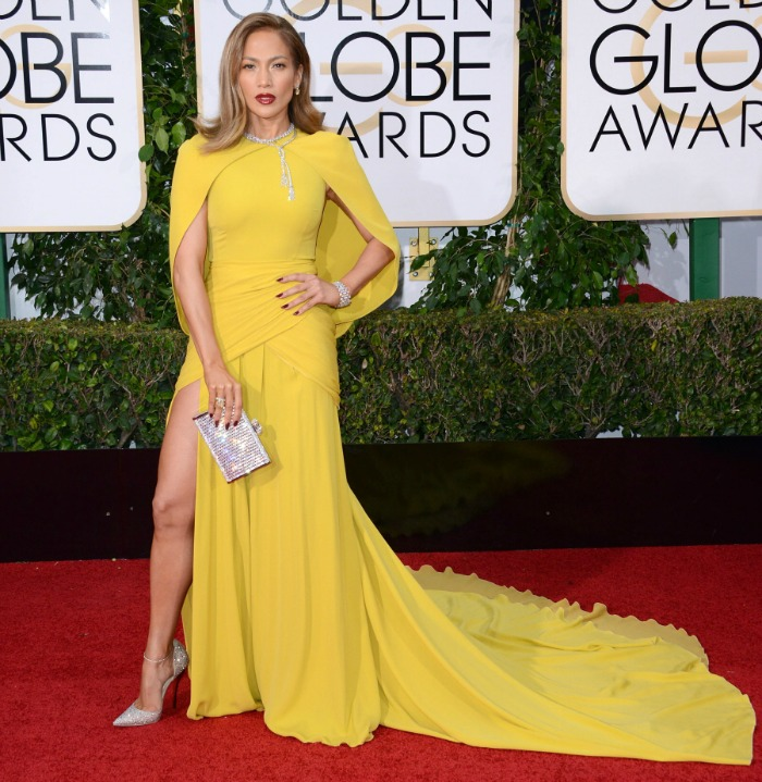 Best 2016 Red Carpet Fashion: Jennifer Lopez at the Golden Globes