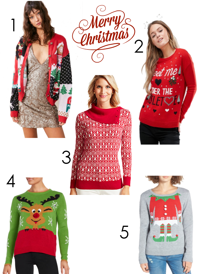 2016 Christmas Holiday Sweaters - Dream in Lace