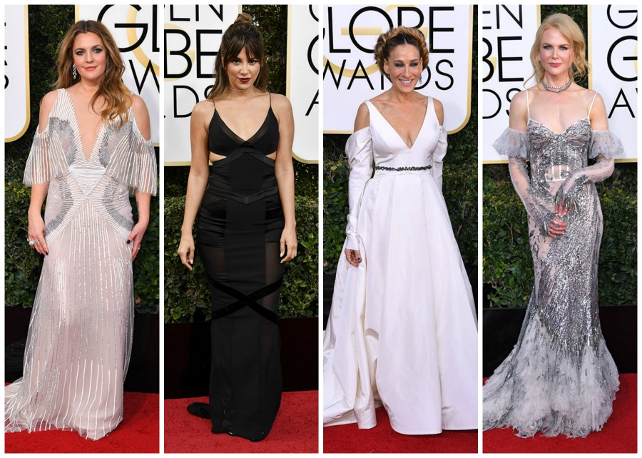 10 Worst Dressed at the 2017 Golden Globes Red Carpet