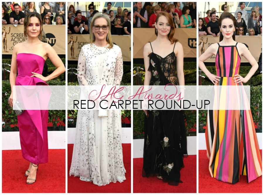 Breaking Down the 2017 SAG Awards Red Carpet