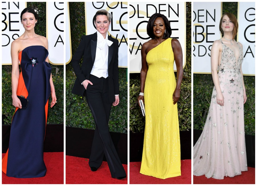 10 Best Dressed Gals at the 2017 Golden Globes