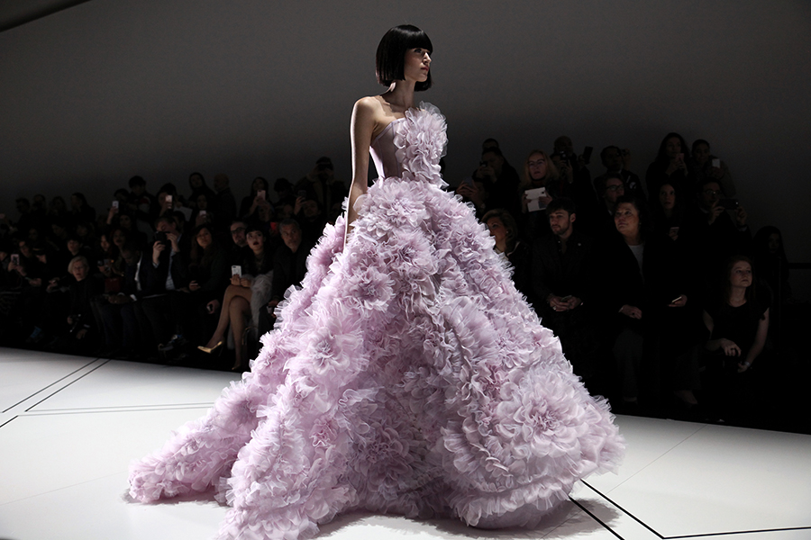 Ralph & Russo Couture - lilac ball gown
