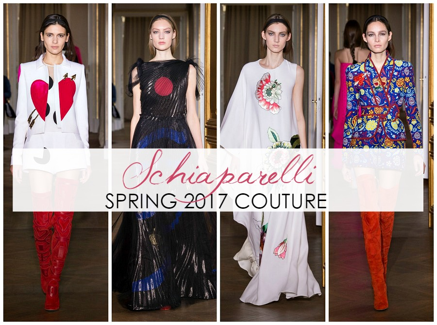Schiaparelli Couture Eases Trump Anxiety