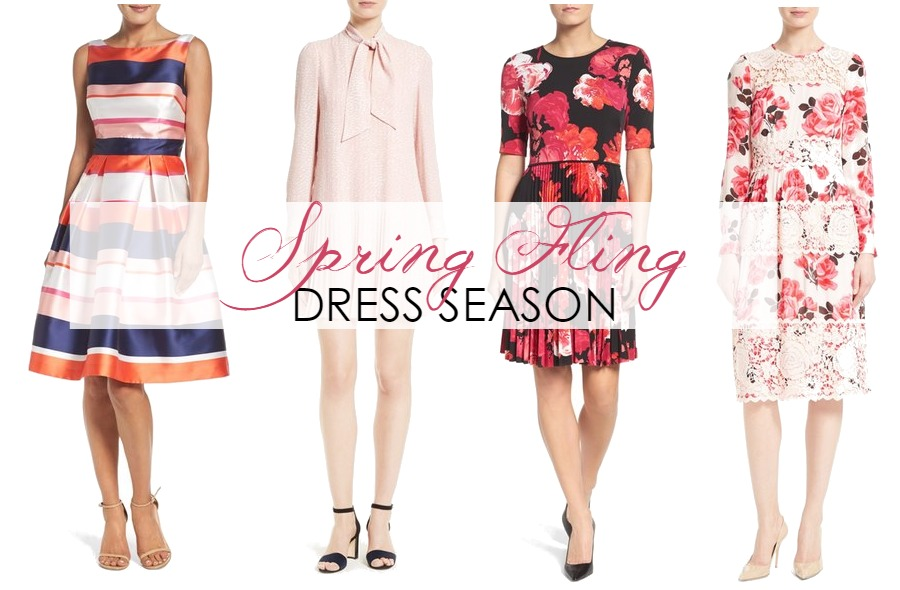 Springing Ahead with Cheerful Spring Dresses!