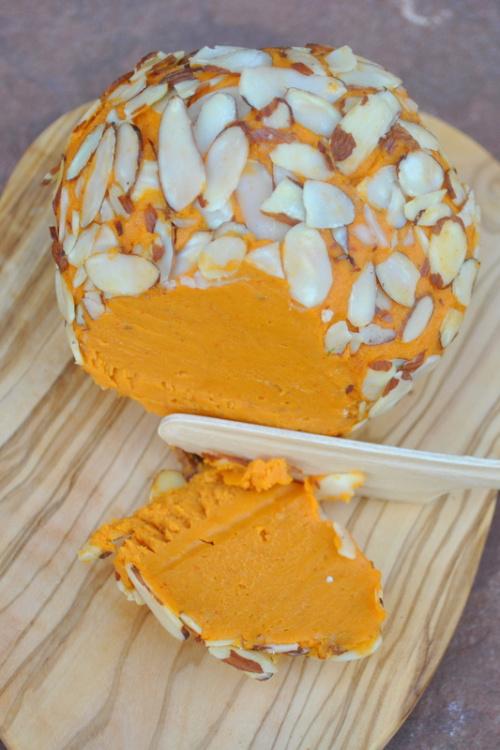 Vegan Sharp Cheddar Cheese Ball