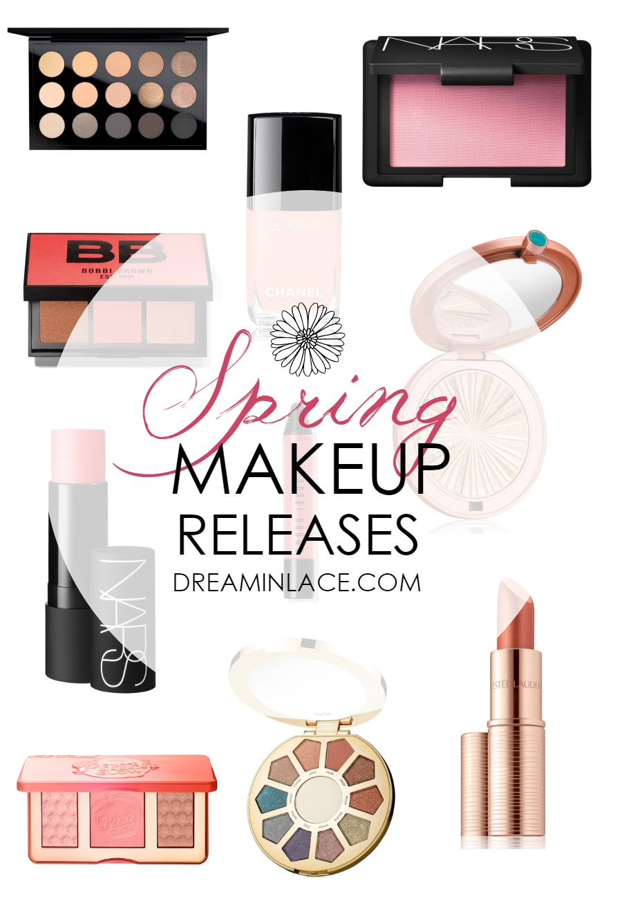 Spring Makeup Releases - Dream in Lace