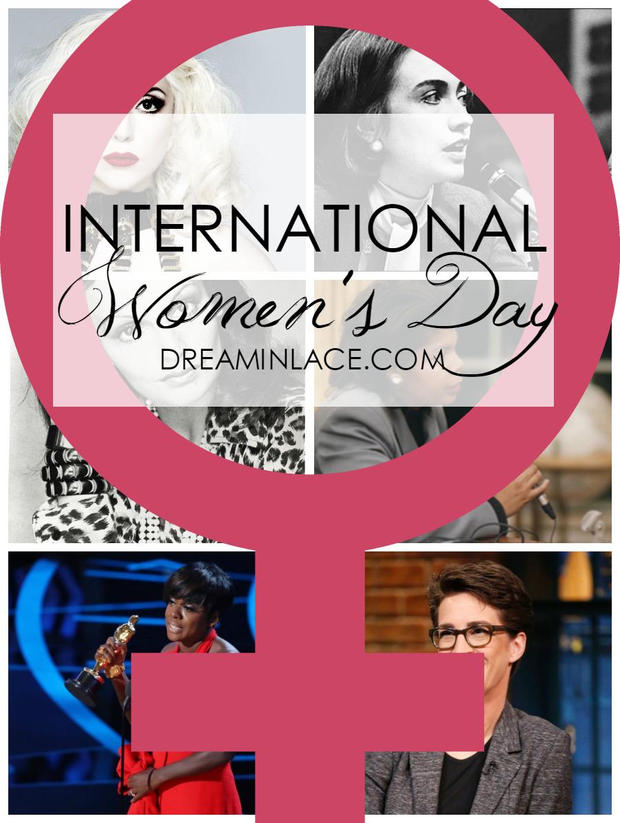International Women's Day - Dream in Lace