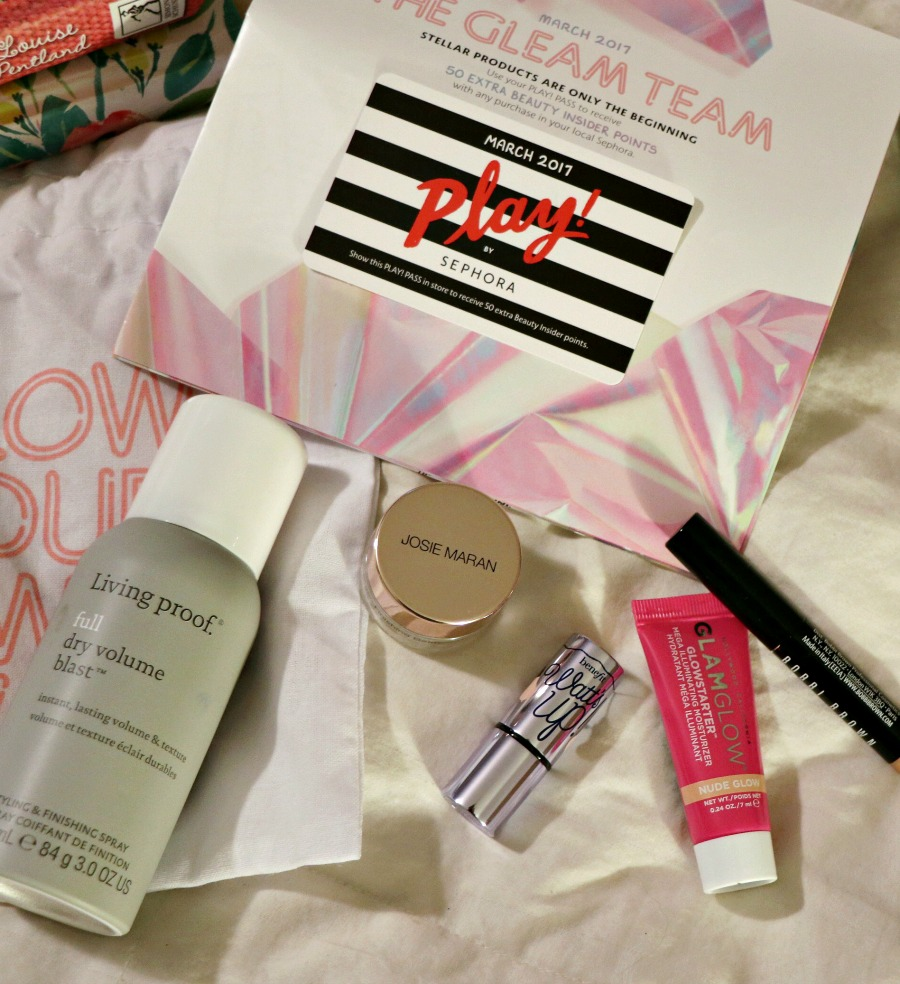 March Sephora Play Box - Dream in Lace