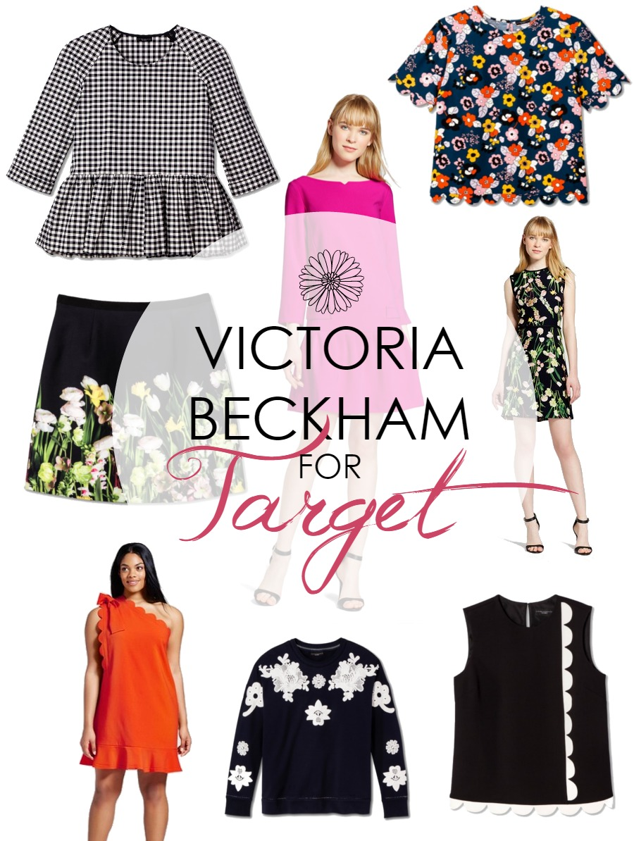 Stylish for Spring! Victoria Beckham's Target Collection has Finally Arrived