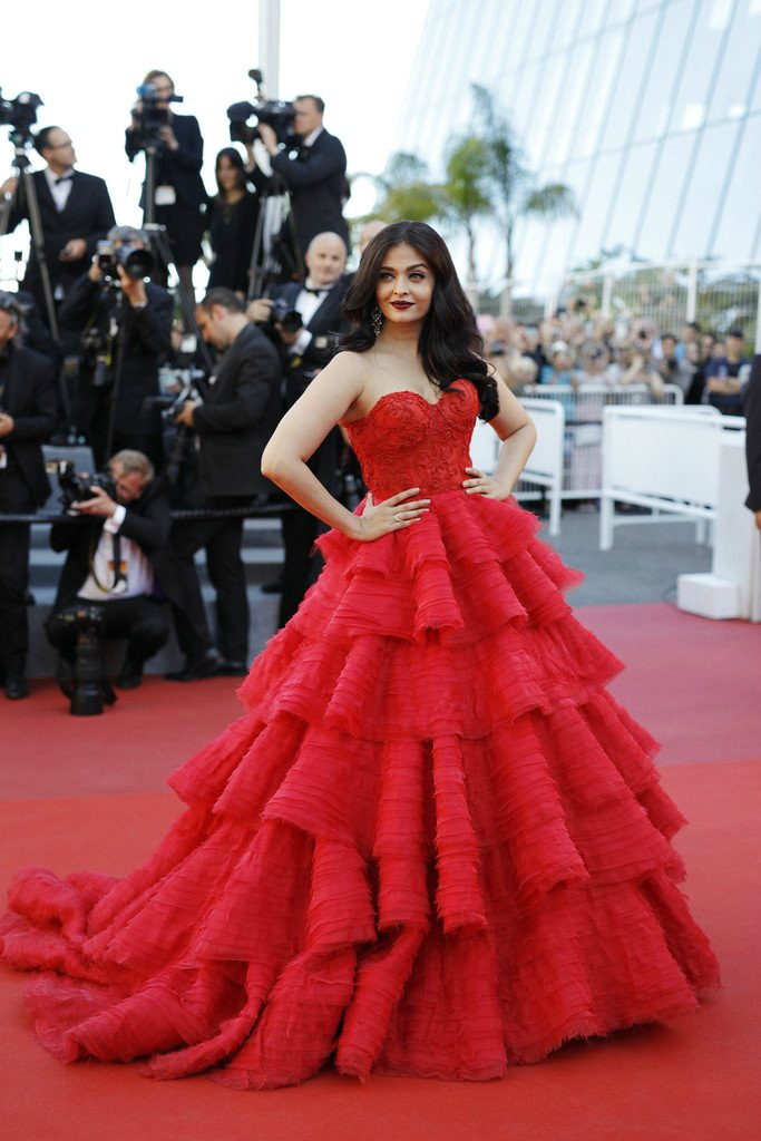 20 Best Cannes 2017 Red Carpet Looks - Aishwarya Rai Bachchan in Ralph and Russo Couture