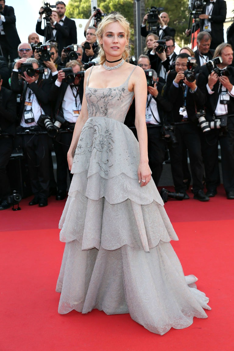 20 Best Cannes 2017 Red Carpet Looks - Diane Kruger in Dior Couture