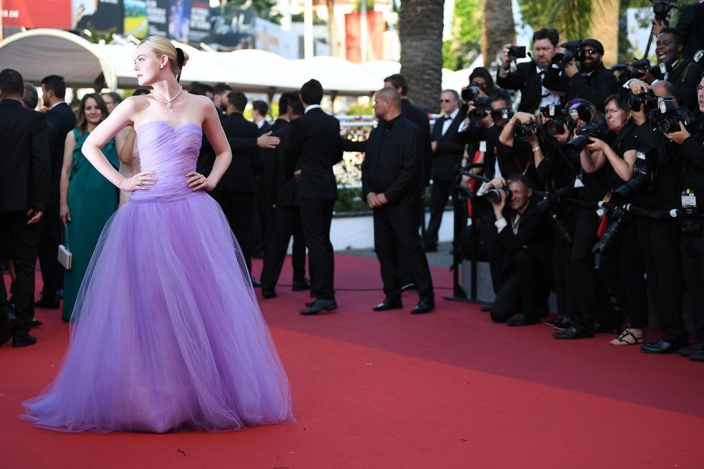 20 Best Cannes 2017 Red Carpet Looks - Elle Fanning in Rodarte