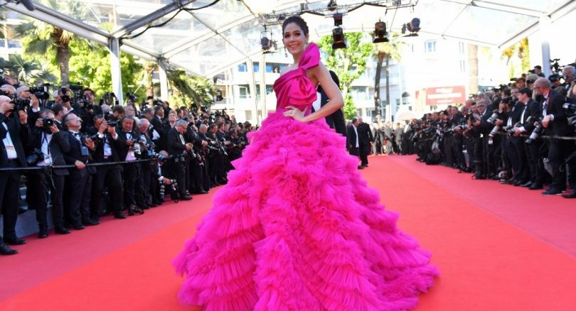 Araya Hargate Maternity Fashion Cannes 2017 I Zuhair Murad Couture