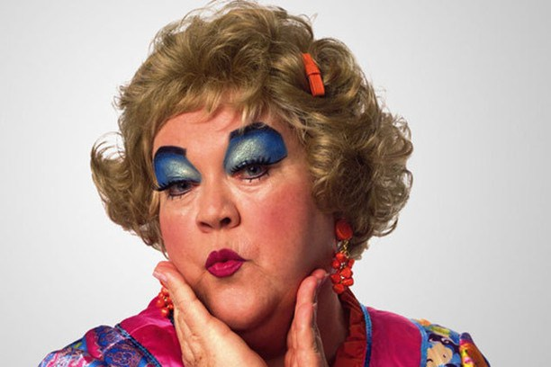 Mimi from the Drew Carey Show - Blue Eyeshadow