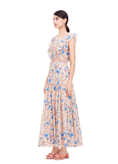 The Beguiled Style I Rebecca Taylor Floral Dress