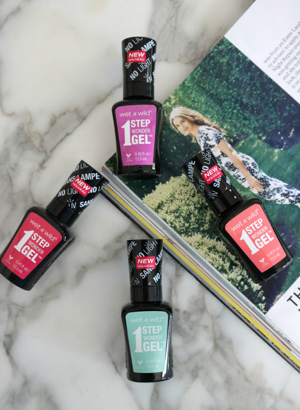 Wet n Wild Gel Nail Polish I One-Step Wonder Gel Polish #CrueltyFree #Nails