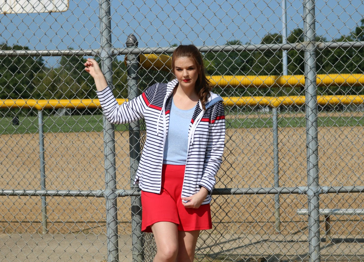 Channeling Sporty Spice with Talbots