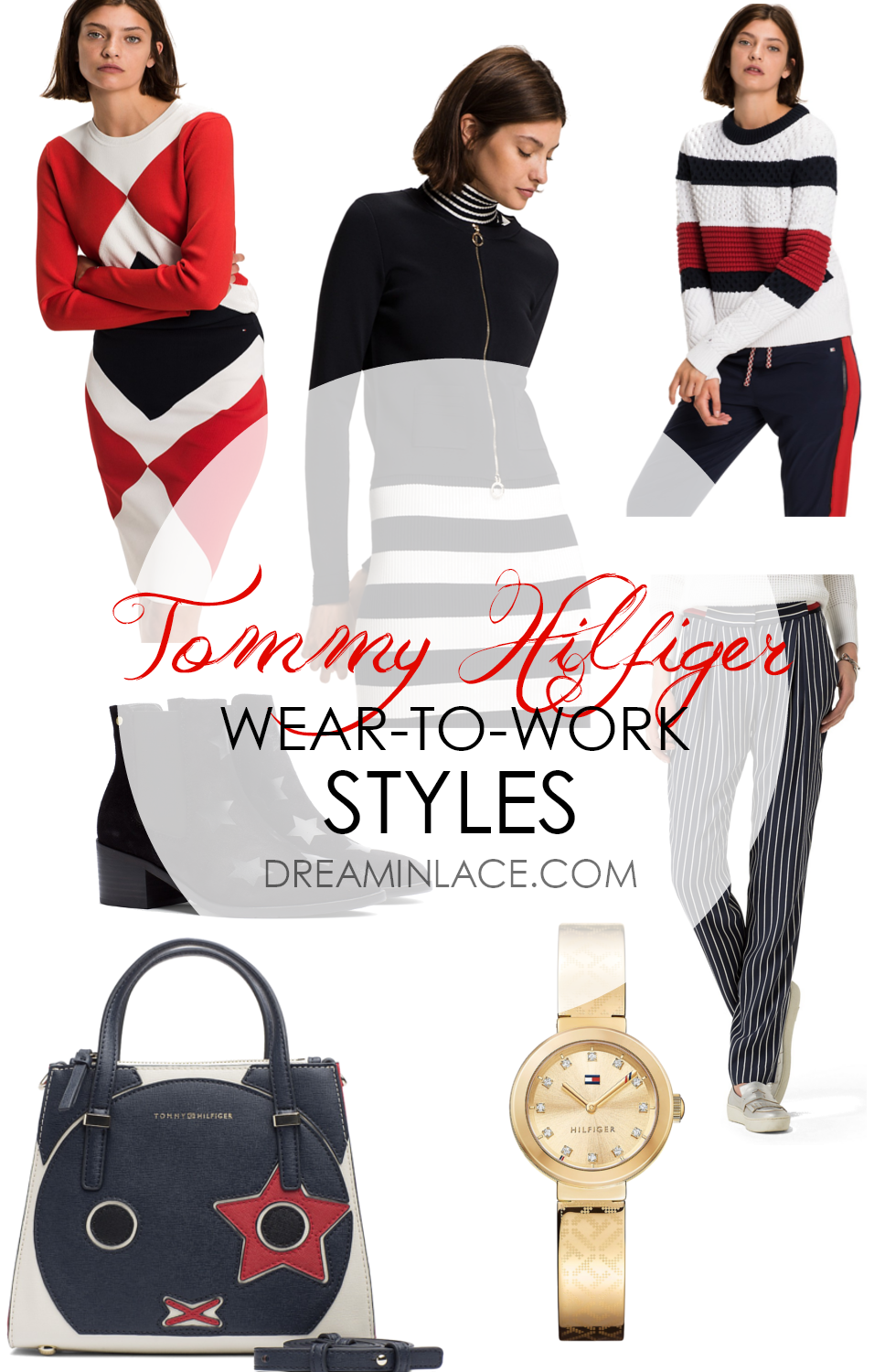 Tommy Hilfiger Wear to Work Style I DreaminLace.com