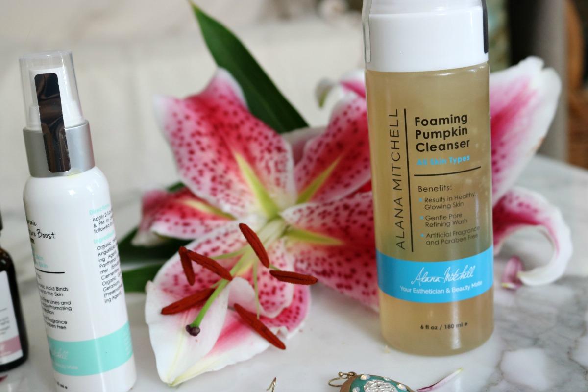 Alana Mitchell Skincare Foaming Pumpkin Cleanser I DreaminLace.com