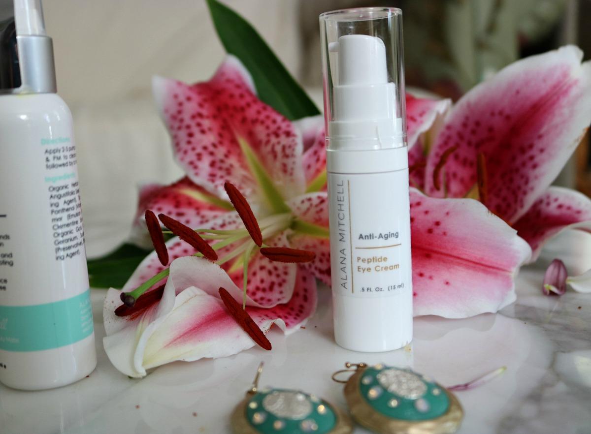 Alana Mitchell Skincare Peptide Eye Cream I DreaminLace.com