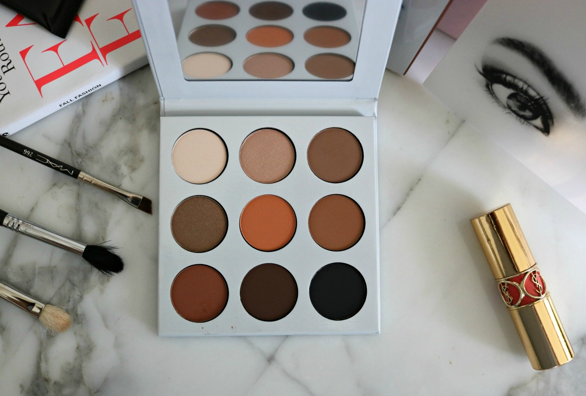Kylie Jenner Bronze Eyeshadow Palette Review I DreaminLace.com #CrueltyFree #CrueltyFreeBeauty