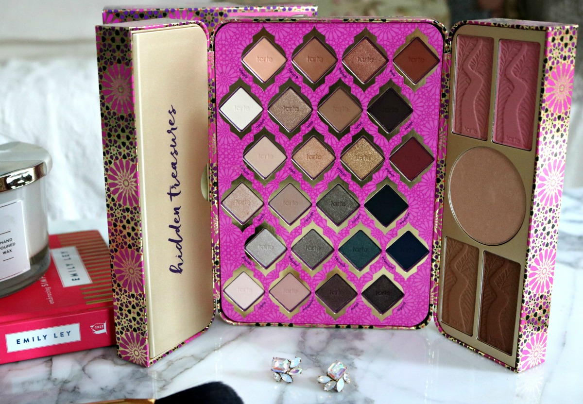 Go Inside the Tarte Holiday Treasure Box