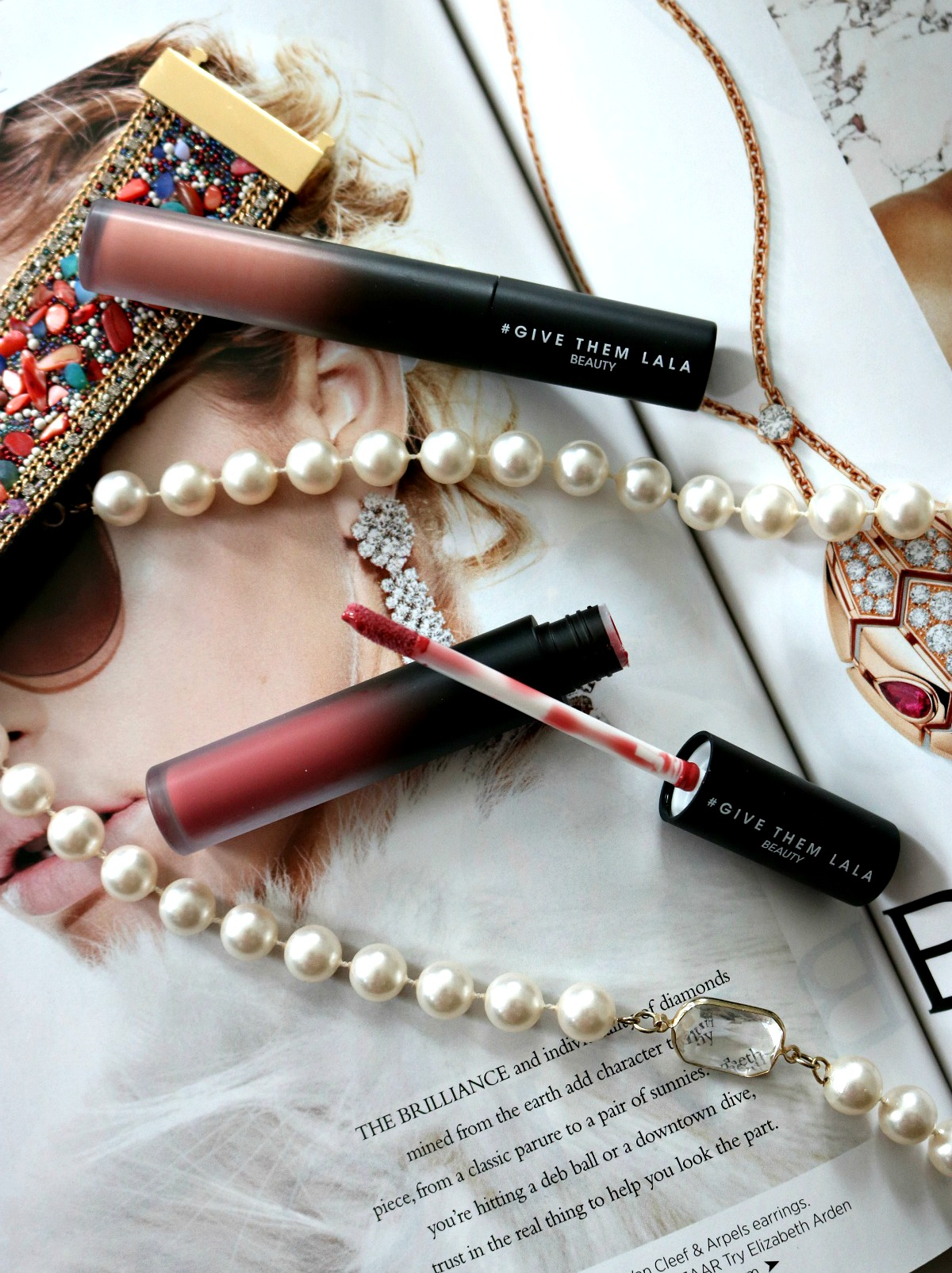 Give Them Lala Beauty Lip Gloss Review I DreaminLace.com #CrueltyFree #LipGloss #CrueltyFreeBeauty