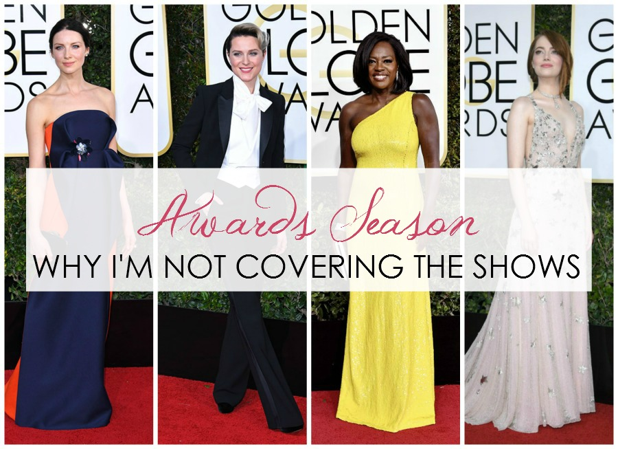 Why I'm Not Covering the Golden Globes This Year