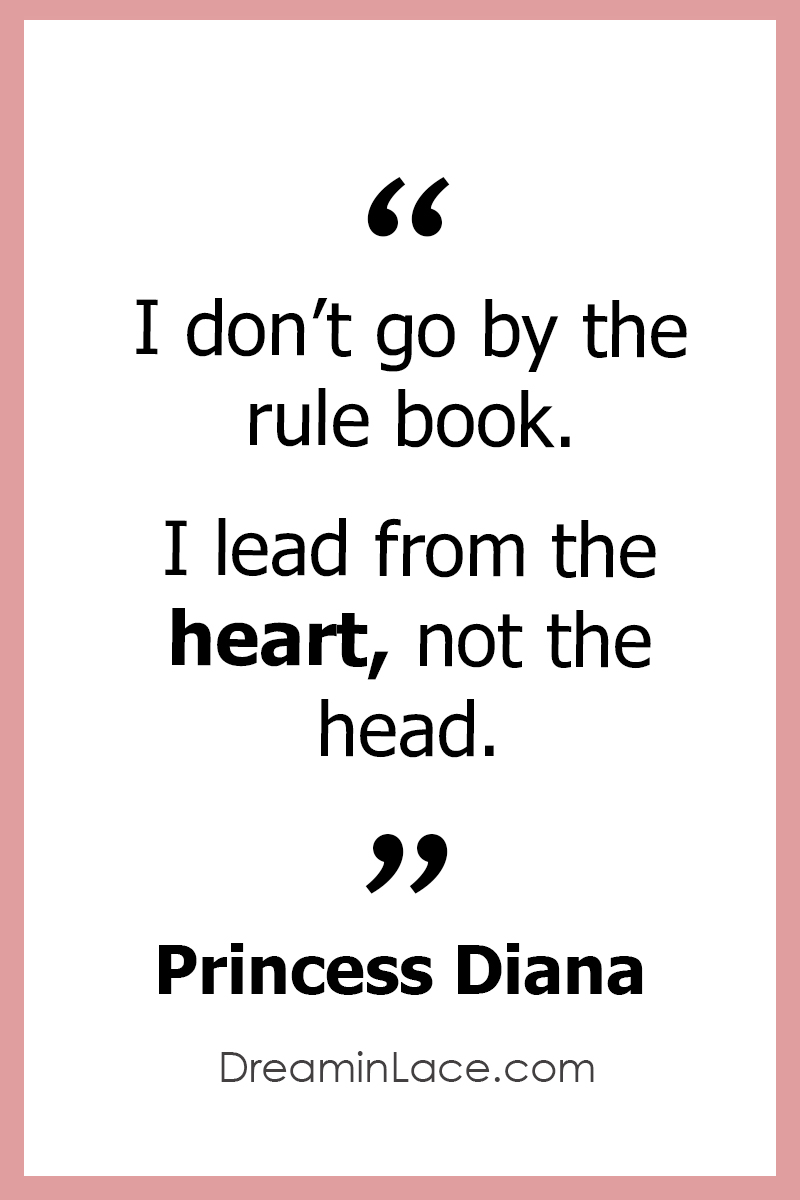 Inspiring Women's Day Quote by Princess Diana #WomensDay #PrincessDiana #Quotes