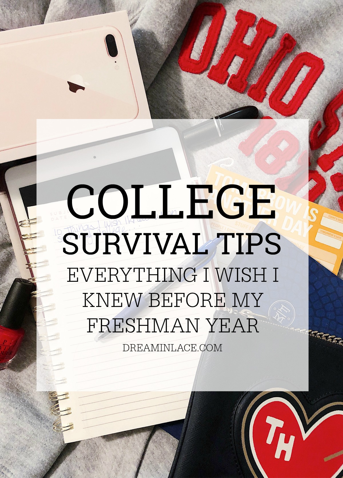 College Survival Tips I Everything I WISH I Knew When Starting College #BacktoSchool #CollegeBound #College #StudentLife #LifeHacks