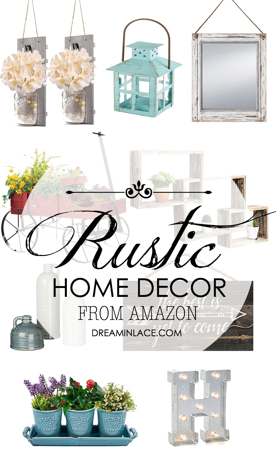 Cozy and Affordable Rustic Home Decor