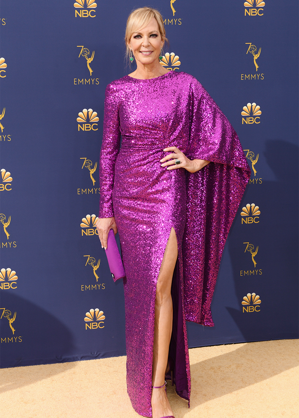 2018 Emmys Best Dressed I Allison Janney in Prabal Gurung #BestDressed #Emmys #PrabalGurung #Fashionista