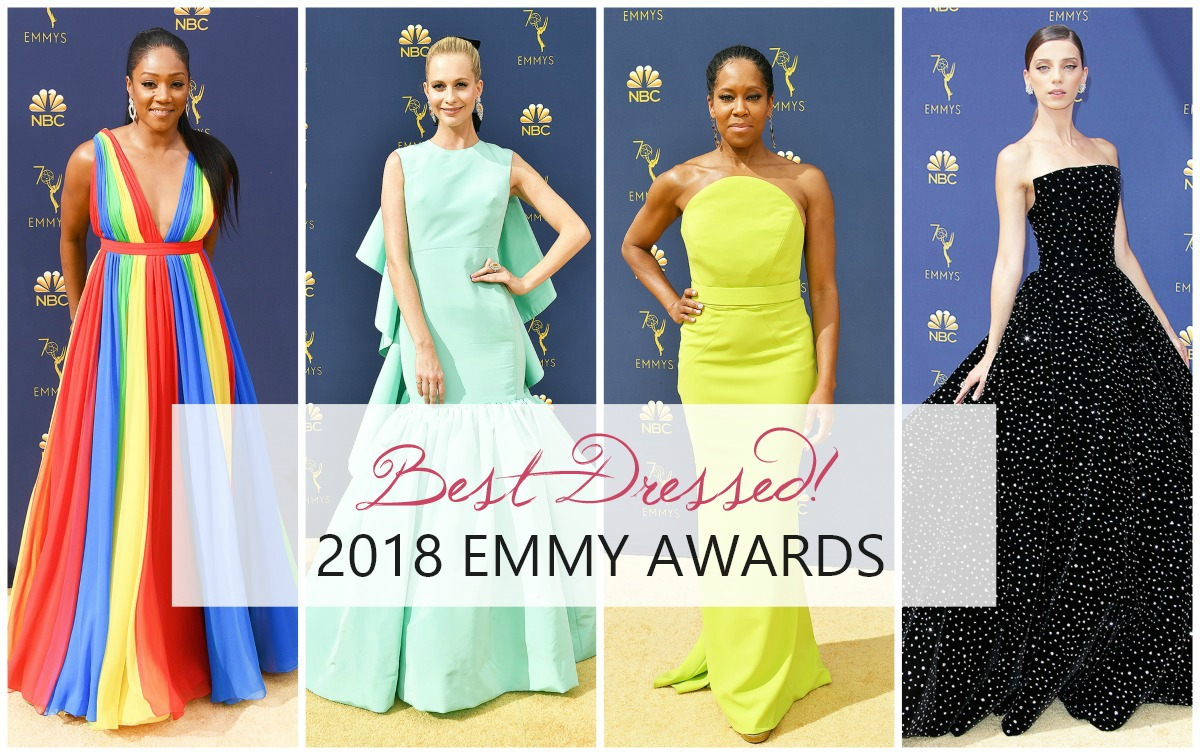 Best Dressed on the 2018 Emmys Red Carpet