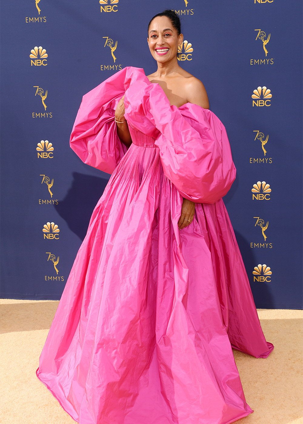 2018 Best Dressed Emmys I Tracee Ellis Ross in Valentino #BestDressed #Emmys #RedCarpet #Fashionista #Valentino