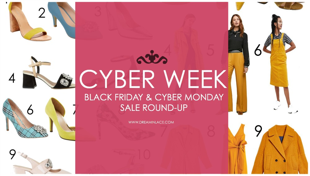 2018 Cyber Week Sale Round-Up I Black Friday and Cyber Monday Fashion and Beauty Deals #BlackFriday #CyberWeek #CyberMonday #Shopping #Sales