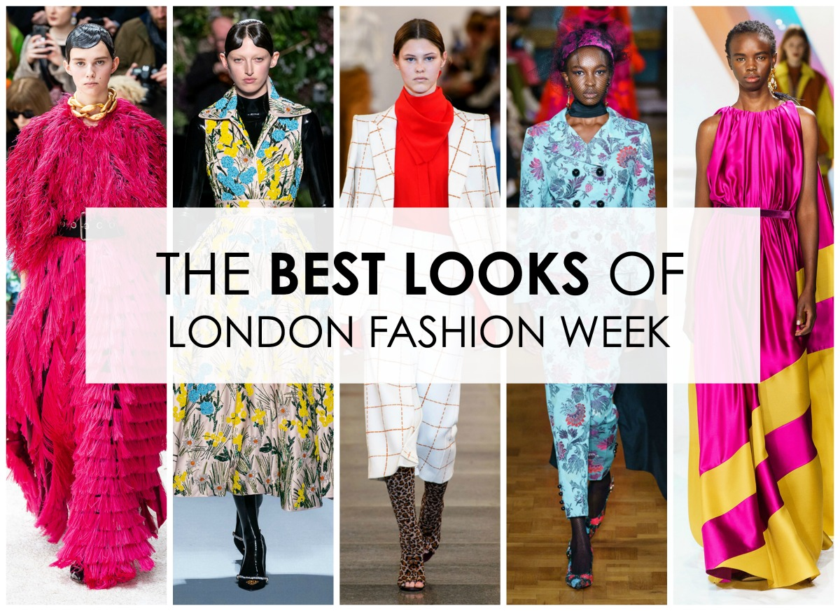 Best London Fashion Week Looks I Fall 2019 Collections #LFW #FashionWeek #Runway #HighFashion